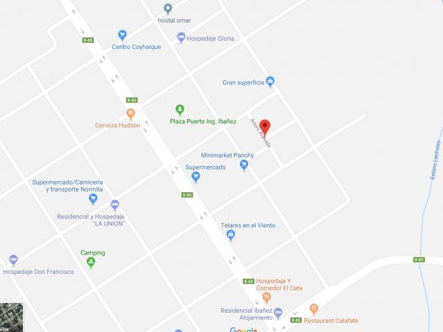 Terreno central, calle Arturo Acevedo #485. Pto Ing. Ibáñez